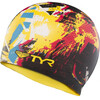 TYR The King Swimming Cap Black/Yellow